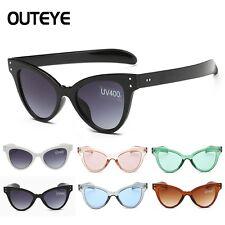 Women Fashion Vintage Retro Cat Eye UV400 Sunglasses Eyewear Shades Eye Glasses