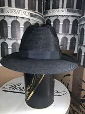 Antonelli Milan Straw Hat Made In The USA Size 7 3/8