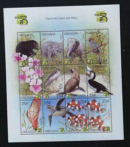 GRENADA-Animals,Fauna-1999-1M/Sh., MNH**,GG 002