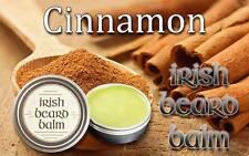Irish beard balm Cinnamon 100% all natural leave in beard conditioner.