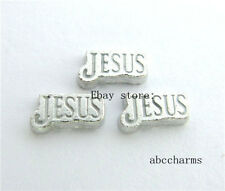 LOT 10 pieces Jesus floating charms for Class living locket free shipping FC754