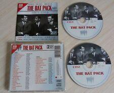 2 CD ALBUM THE RAT PACK DEAN MARTIN FRANK SINATRA SAMMY DAVIS JNR 48 TITRES