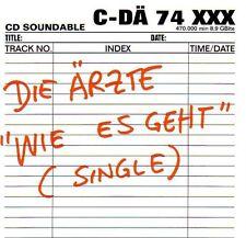 DIE ÄRZTE: WIE ES GEHT / CD