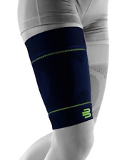 Bauerfeind Sports Compression Sleeves Upper Leg 1 Pair  SMALL / SHORT | Navy