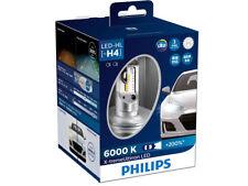 2x PHILIPS X-TREME ULTINON +150% H4 Hi/Low BEAM LED BULBS 6000K 12953BWX2