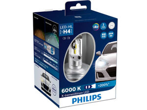 2x PHILIPS X-TREME ULTINON  H4 9003 Hi/Low BEAM LED BULBS 6000K 12953BWX2