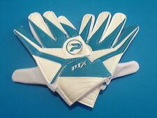 New Patrick PTX Junior Football Goalkeeper Gloves Large Boys Blue / White