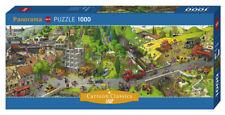 JEAN-JAQUES LOUP - BUSY DAY - Heye Puzzle 29835 - 1000 Pcs. NEU