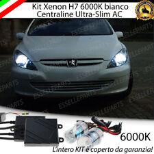 KIT XENON SLIM XENO H7 AC 6000K 35W PER PEUGEOT 307 ULTRALUMINOSI NO AVARIA