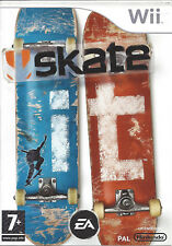 SKATE IT for Nintendo Wii - with box & manual - PAL