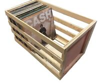 24 inch Vinyl Record Storage Crate ...Album, LP, Record Storage and Display