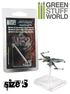 Aimants Rotatifs (taille S) pour jeu de figurines X-Wing Tie Figther A-Wing