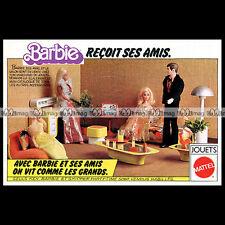 Mattel Vintage BARBIE et ses amis - 1977 Pub / Publicité / Original Advert #B154