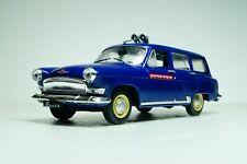 GAZ 22 Volga (1962) Police Scale 1:43 DeAgostini Diecast model car