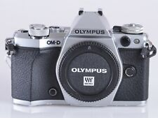 Olympus OM-D E-M5 Mark II Mirrorless Micro Four Thirds Digital Camera (Silver)