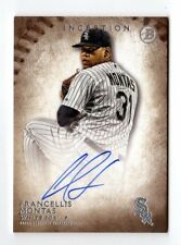 FRANCELLIS MONTAS MLB 2015 BOWMAN INCEPTION PROSPECT AUTOGRAPH (ATHLETICS,SOX