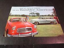 Original 1959 Rambler American Sales Brochure