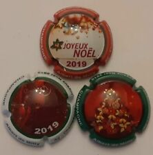 Noël capsules Champagne  GOTORBE Cedrine Série  de 6 nouv