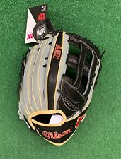 "Wilson A2K 12.75"" GOTM 1799 SuperSkin Outfield Baseball Glove w/ Spin Control"