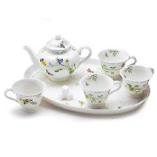 burton+Burton Children's Porcelain Tea Set for 4 LUCINDA BELLE BOTANICAL