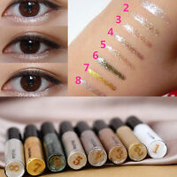 8Colors Women's Glitter Liquid Eyeliner Pencil Lip liner Eye Shadow Pen Cosmetic