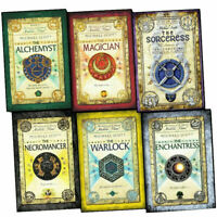 The Secrets of the Immortal Nicholas Flamel Series 1 - 6 Books Collection Set