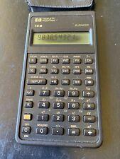 Hewlett Packard HP-10B Business Financial Calculator, Plus Case & Owners Manuel