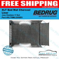 Bedrug XLT Bed Mat Charcoal Liner - 2020-2021 Jeep Gladiator 5' Bed XLTBMJ20SBS