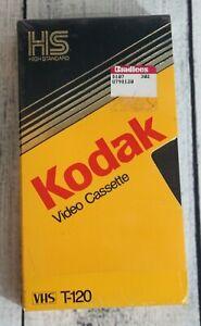 Kodak High Standard Video Cassette 6 Hour T-120 VHS Blank Tape NEW