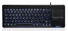 PERIXX periboard - 315 h us retroiluminada keyboard with touchpad - 2 concentradores-Wired USB