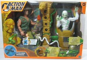 Action Man Pyramid Mission Box Damaged Hasbro 2002