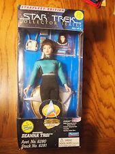 "Playmates Star Trek 9"" Commander Deanna Troi, mint in box"