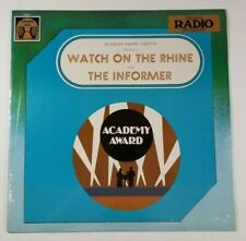 ACADEMY AWARD THEATRE Watch On The Rhine LP Golden Age 5032 US 1978 SEALED 11A