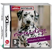 NINTENDOGS DALMATIAN & FRIENDS Nintendo DS NDS 2DS DSL DSI 3DS Video Game New
