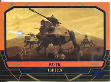 Star Wars Galactic Files Blue Parallel #260 AT-TE