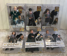 6 Harry Potter Doll Lot Set McGonagall Hermione Ron Weasley Ginny Draco Malfoy