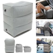 Inflatable Foot Rest Travel Air Pillow Portable Cushion Home Leg Footrest Relax