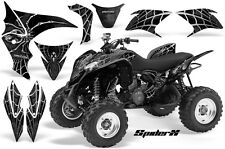 HONDA TRX 700 GRAPHICS KIT CREATORX DECALS STICKERS SPIDERX SILVER