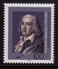 Alemania 1993 muerte de Friedrich Hölderin, Poeta Sg 25.24 Mnh