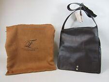 GENUINE LEATHER Designer FPL® Computer Messenger Bag Authentic Limited $1,299