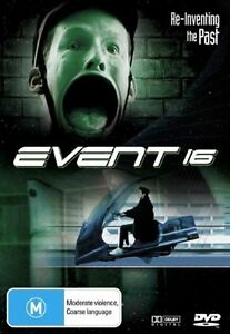 Event 16 DVD Rare NEW ZEALAND Horror Movie 2006 super rare film OOP HTF Code RED