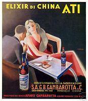 A. Cavadini - GAMBAROTTA - elisir di china- ATI-Verona