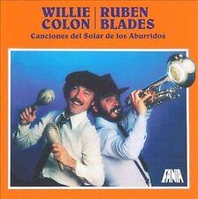 Canciones del Solar de los Aburridos Rubén Blades/Willie Colón (CD, 2010) SEALED