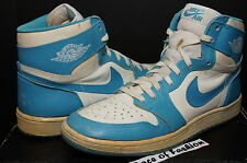 NIKE AIR JORDAN HI I 1 UNC WHITE CAROLINA BLUE vi ORIGINAL OG 1985 CHICAGO  BRED