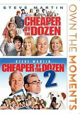Cheaper By the Dozen 1 and 2 (DVD, 2012, 2-Disc Set)