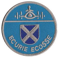 Ecurie Ecosse Jaguar racing Scottish embroidered patch