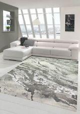 Carpet modern designer rug living room carpet marble look in gray