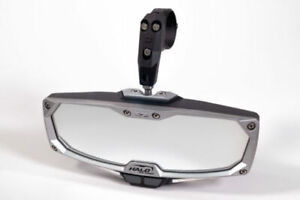 Seizmik Halo-RA LED Rearview Rear View Mirror Cast Aluminum 1.75″ Round Tube