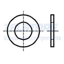 100pcs  Rondella rotonda M3 D=6mm h=0,5mm acciaio inox A2 DIN 433 BOSSARD