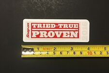 """Snap-on RARE Genuine 4"""" x 1-3/8"""" TRIED-TRUE PROVEN 2016 Sticker Decal"""